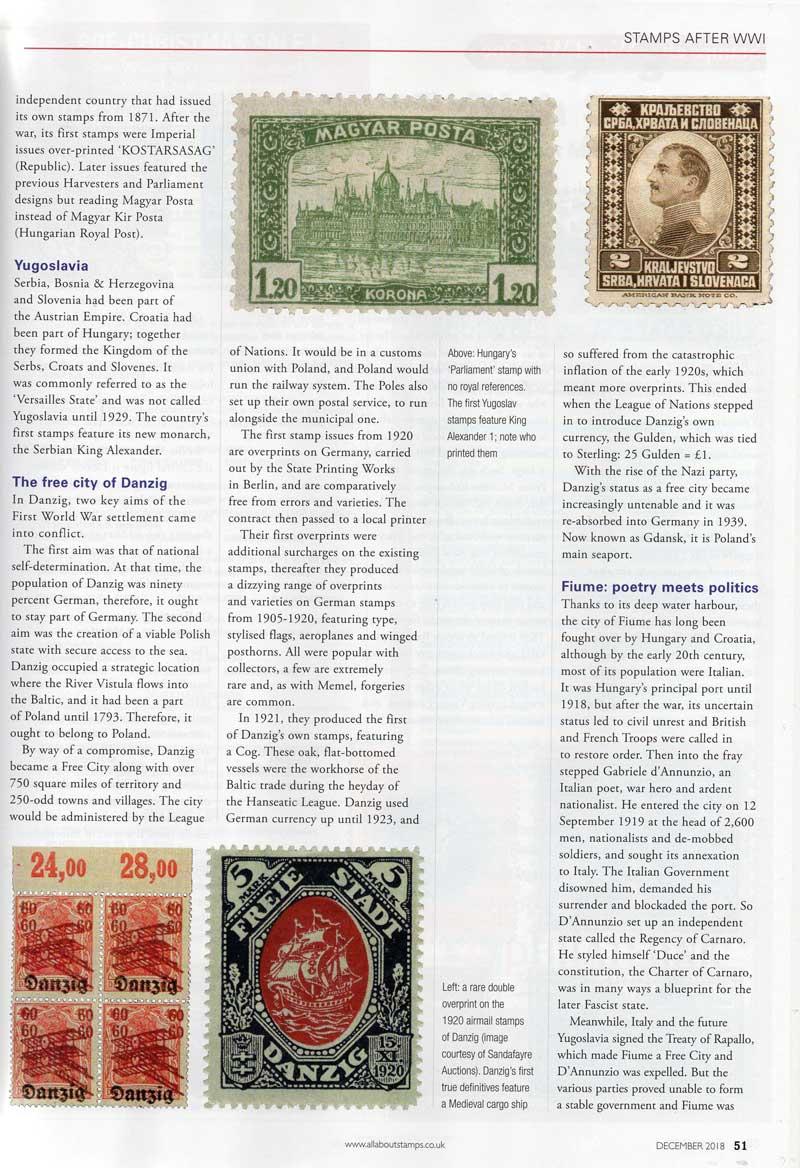 Writing - Portobello Stamp